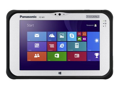 Panasonic Toughpad FZ-M1 Rugged tablet Core m5 6Y57 / 1.1 GHz Win 10 Pro 8 GB RAM