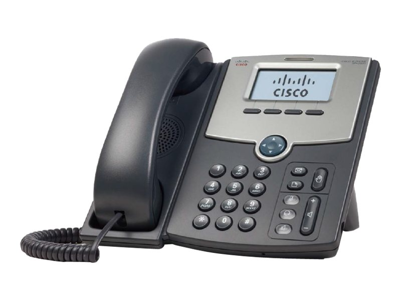 Cisco Small Business SPA 502G - VoIP-Telefon - SIP, SIP v2, SPCP - Einzelleitung - Silber, Dunkelgrau - für Small Business Pro Unified Communications 320 with 4 FXO