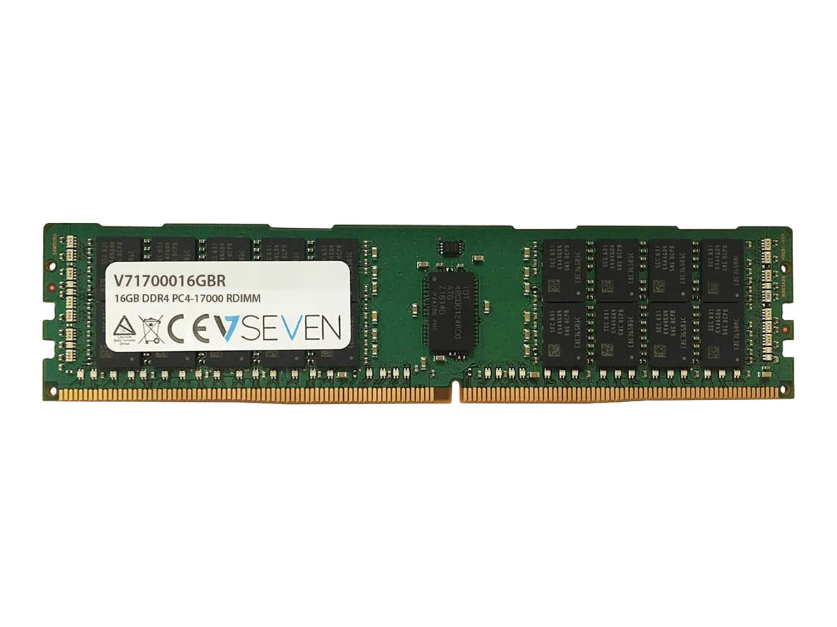 V7 - DDR4 - module - 16 GB - DIMM 288-pin - 2133 MHz / PC4-17000 - registered