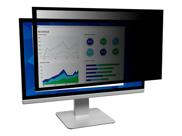 """Image of 3M Framed Privacy Filter for 19"""" Standard Monitor - display privacy filter - 19"""""""