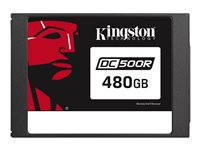 "Kingston Data Center DC500R - Solid state drive - encrypted - 480 GB - internal - 2.5"" - SATA 6Gb/s - AES - Self-Encrypting Drive (SED)"