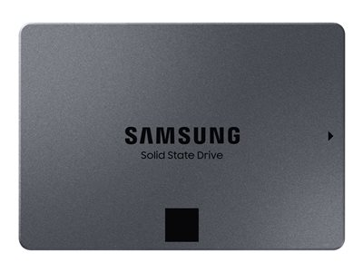 "Samsung 860 QVO MZ-76Q4T0BW - Solid state drive - encrypted - 4 TB - internal (desktop) - 2.5"" - SATA 6Gb/s - buffer: 4 GB"