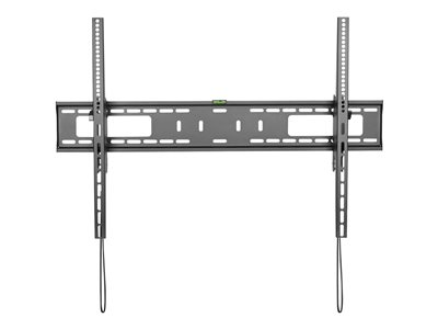 StarTech.com TV Wall Mount supports 60-100 inch VESA Displays (165lb/75kg), Heavy Duty Tilting Universal TV Wall Mount, Adjustable Mounting Bracket for Large Flat Screens, Low Profile - Slim TV Wall Mount (FPWTLTB1)