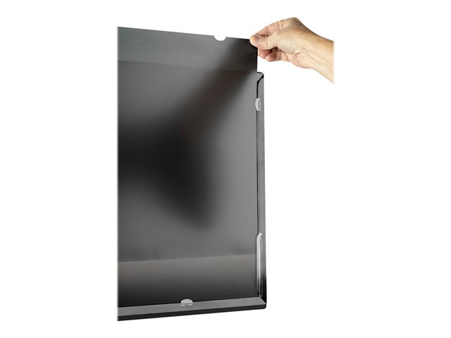 StarTech.com Monitor Privacy Screen for 24 inch PC Display, Computer Screen Security Filter, Blue Light Reducing Screen Protector Film, 16:9 Widescreen, Matte/Glossy, +/-30 Degree Viewing - Blue Light Filter (PRIVSCNMON24)