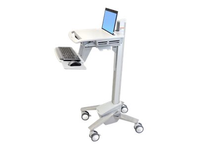 Ergotron StyleView EMR Laptop Cart, SV40 Cart for notebook / keyboard / mouse