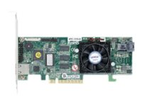 Areca 4 port 12Gb/s SAS PCIe x8 RAID Card, 1GB Cache, 1x intern SFF-8643, LP