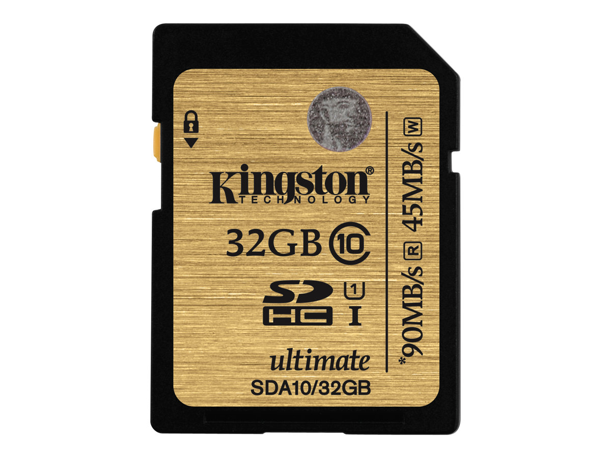 Kingston Ultimate - Flash-Speicherkarte - 32 GB - UHS Class 1 / Class10 - 300x - SDHC
