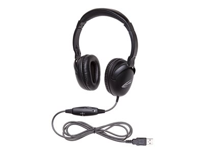 Califone NeoTech Plus 1017MUSB Headset full size wired USB matte black