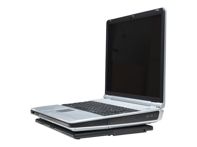 Manhattan Notebook Computer Cooling Pad - Notebook-Lüfter - Schwarz