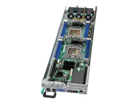Intel Compute Module HNS2600JF - Server - blade - 2-way - RAM 0 MB - no HDD - ServerEngines Pilot III - GigE - monitor: none - with Intel Node Power Board (FH2000NPB), Bridge Board (FHWJFWPBGB)