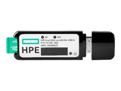 HPE 32GB microSD RAID 1 USB Boot Drive flash (boot)