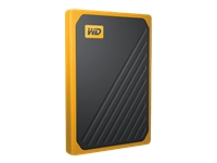 Picture of WD My Passport Go WDBMCG0010BYT - solid state drive - 1 TB - USB 3.0 (WDBMCG0010BYT-WESN)