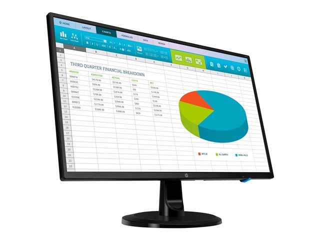 HP N246v - monitor LED - Full HD (1080p) - 23.8""