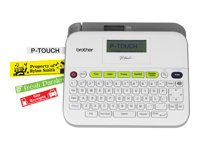 Brother P-Touch PT-D400VP Labelmaker monochrome thermal transfer Roll (0.7 in) 180 dpi