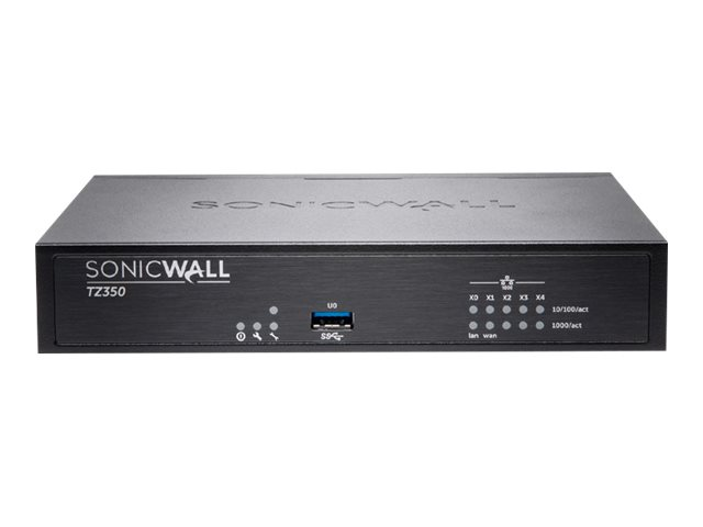 SONICWALL TZ350 TOTALSECURE ADVANCED EDITION