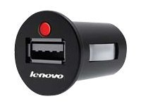 Lenovo ThinkPad Tablet DC Charger - Netzteil - Pkw (USB) - für ThinkPad 8; ThinkPad Tablet; ThinkPad Tablet 2