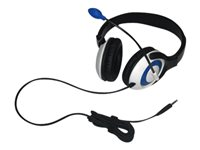 Avid AE-55 Classroom Pack headset full size wired 3.5 mm jack blue (p