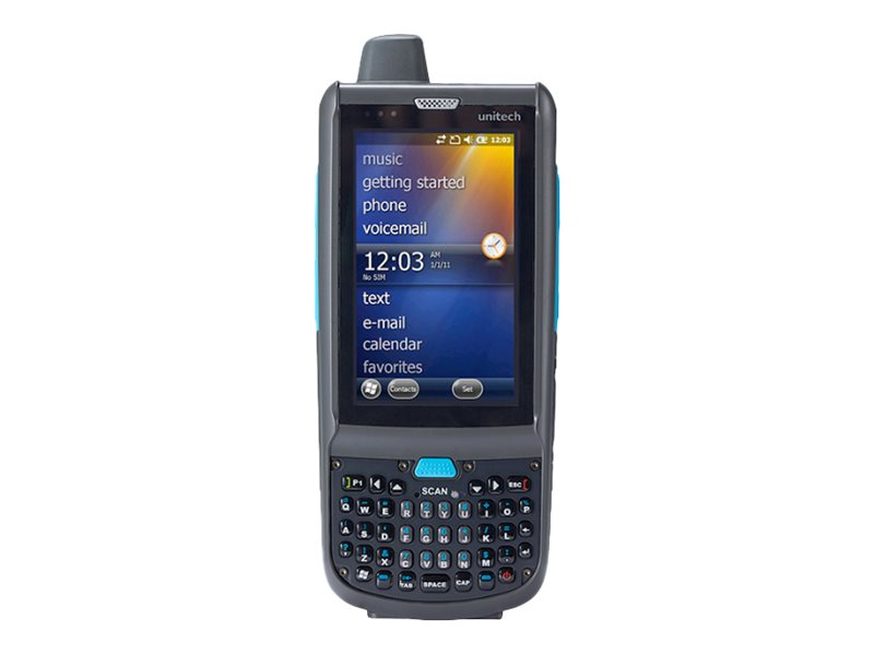 """Unitech Rugged Mobile Computer PA692 - data collection terminal - Win Embedded Handheld 6.5 - 512 MB - 3.8"""" - 3G"""