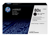 HP CF280X Black Dual Pack LJ Toner Cartridge