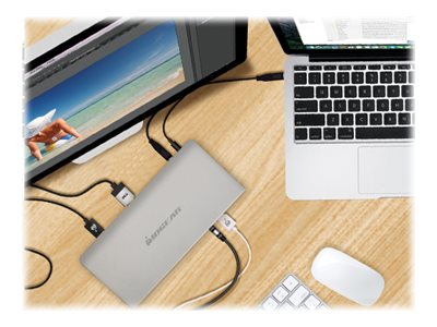 IOGEAR USB-C 4K Docking Station with Power Delivery