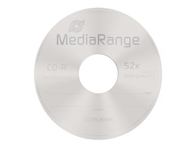 - CD-R x 25 - 700 Mo - support de stockage