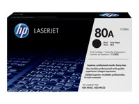 HP 80A - Black - original - LaserJet - toner cartridge (CF280A) - for LaserJet Pro 400 M401, MFP M425