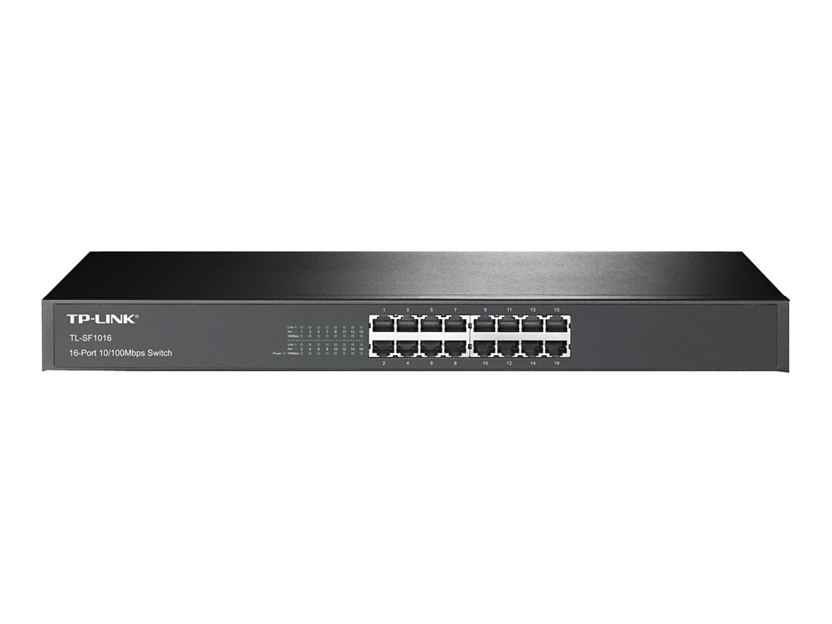 TP-LINK TL-SF1016 - Switch - 16 x 10/100 - Desktop
