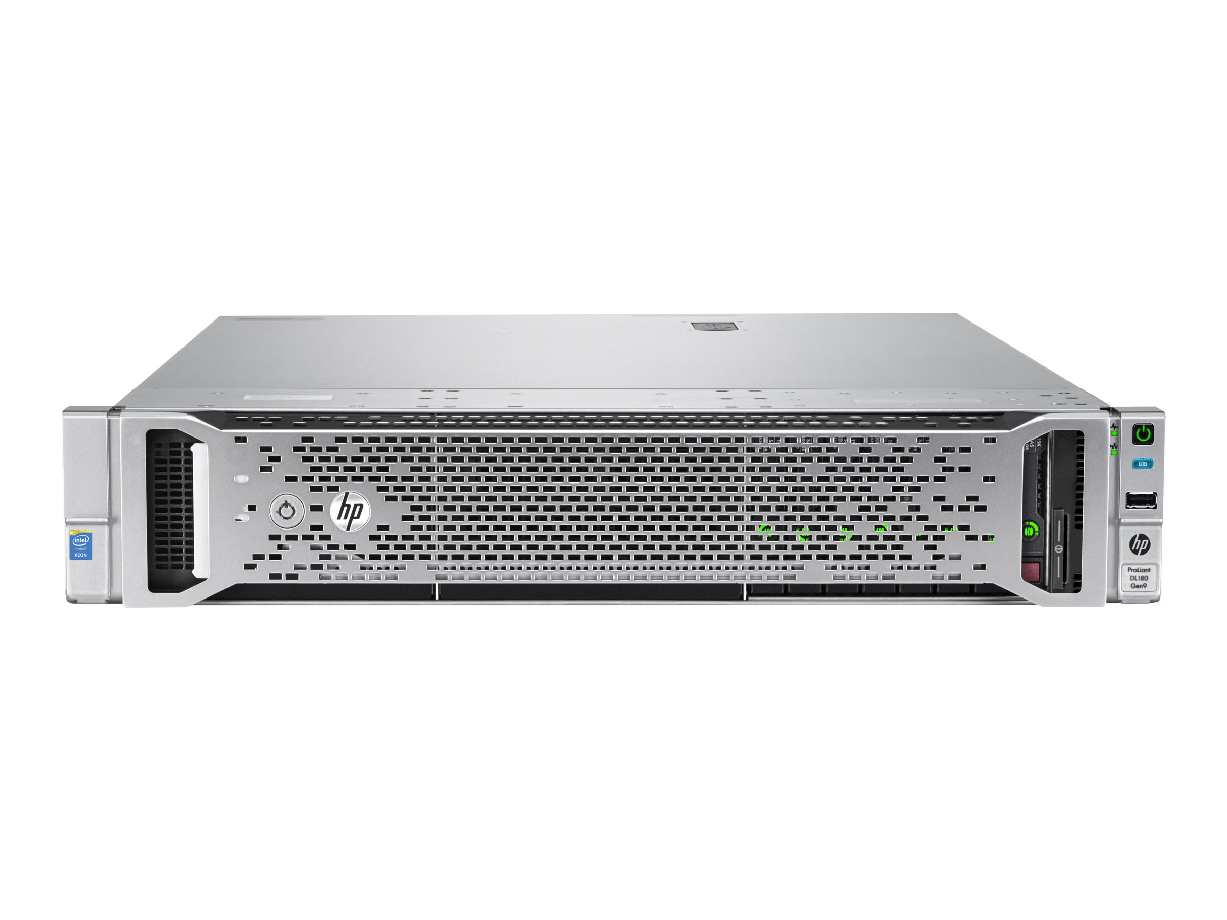 HPE ProLiant DL180 Gen9 - Server - Rack-Montage - 2U - zweiweg - 1 x Xeon E5-2620V4 / 2.1 GHz