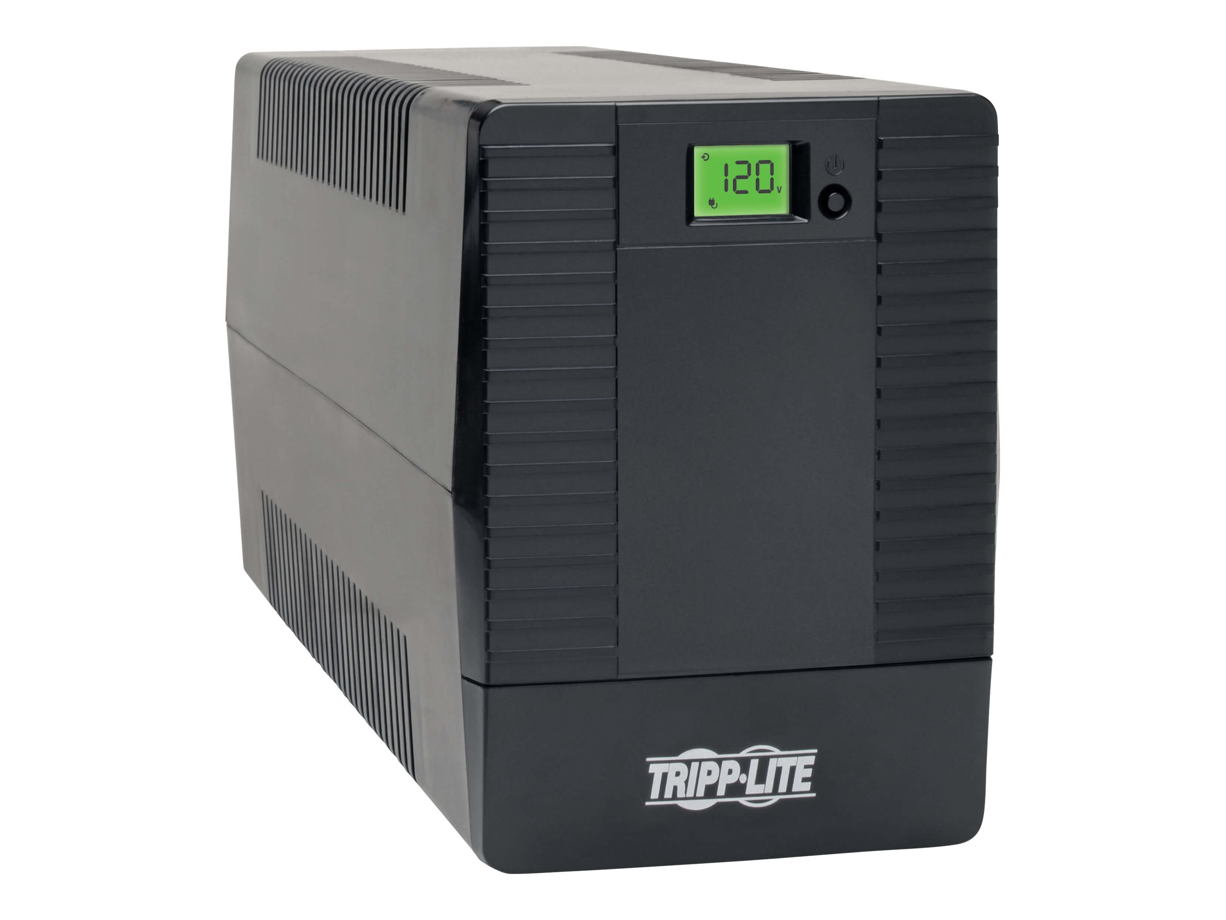 Tripp Lite 700VA 480W UPS Smart Tower Battery Back Up Desktop AVR LCD USB - UPS - 480 Watt - 700 VA