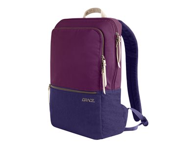 STM Grace Pack Notebook carrying backpack 15INCH dark purple