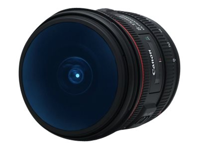 Canon EF wide-angle zoom lens - 8 mm - 15 mm