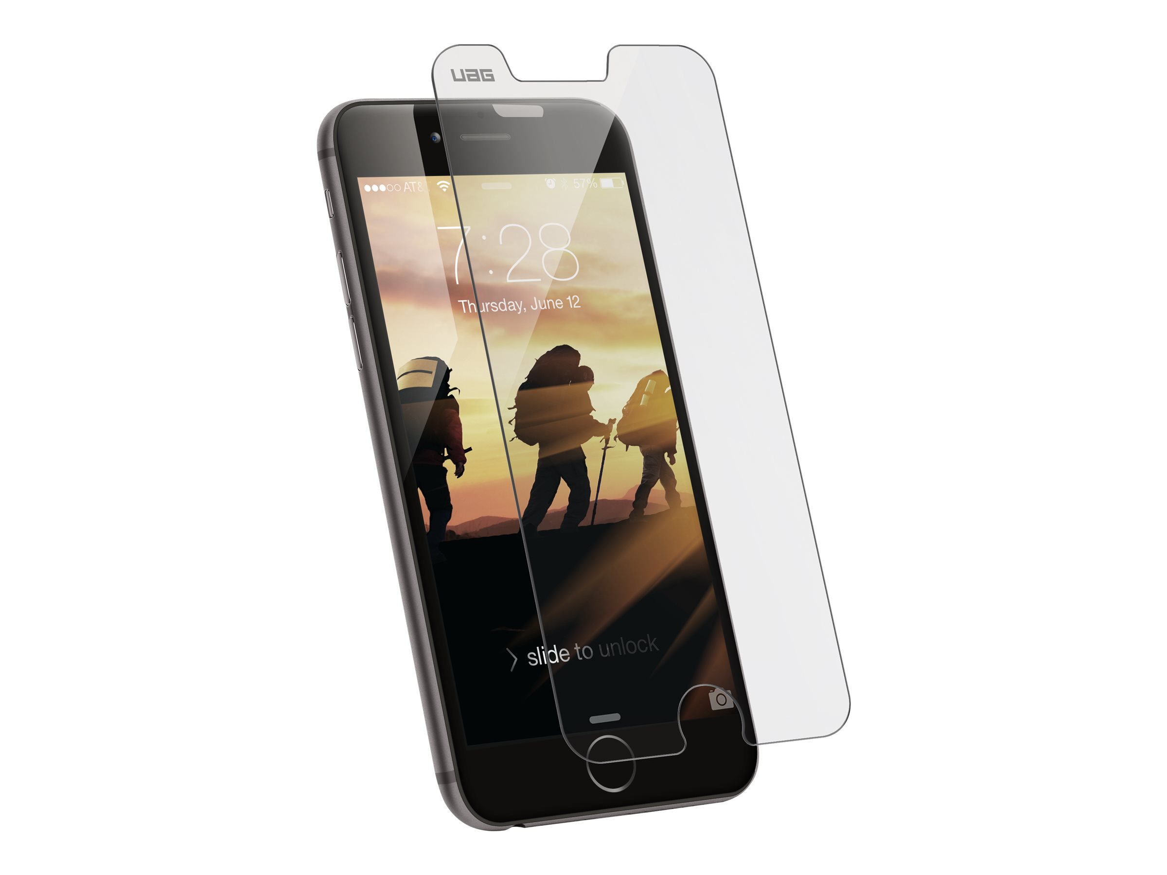 UAG Tempered Glass Screen Shield for iPhone 8 / 7 / 6s / 6 [4.7-inch screen] - screen protector for cellular phone