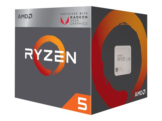 AMD Ryzen 5 1600 - 3.2 GHz - 6 cœurs - 12 fils - 16 Mo cache - Socket AM4 - Box