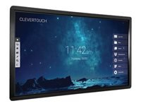 "Clevertouch - 75"" Class - Pro Series LED display - with touchscreen - 4K UHD (2160p) 3840 x 2160"