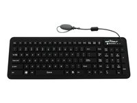 Seal Shield Seal Glow2 Keyboard backlit USB black