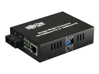 Tripp Lite Fiber Optic 10/100BaseT to 100BaseFX-SC Multimode Media Converter 2km 1310nm