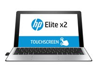 """HP Elite x2 1012 G2 - Tablet - with detachable keyboard - Core i3 7100U / 2.4 GHz - Win 10 Pro 64-bit - 4 GB RAM - 256 GB SSD HP Z Turbo Drive G2, NVMe, TLC - 12.3"""" IPS touchscreen 2736 x 1824 - HD Graphics 620 - Wi-Fi, Bluetooth - kbd: UK - with HP Elite x2 1012 G2 Collaboration Keyboard"""