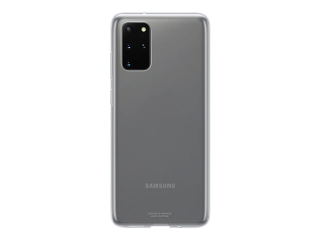 Samsung Clear Cover EF-QG985 - Back cover for cell phone - clear - for Galaxy S20+, S20+ 5G