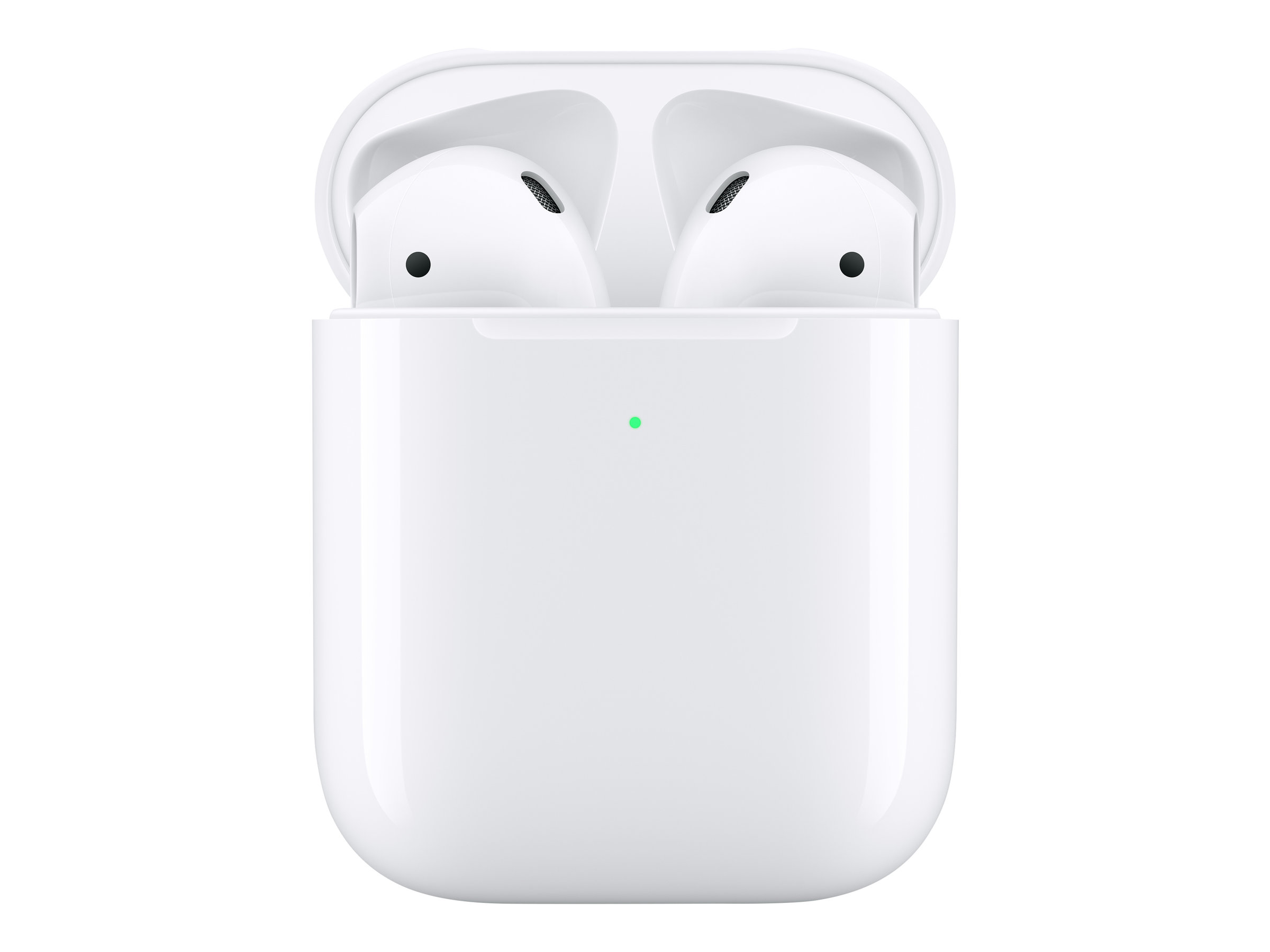 Apple AirPods with Wireless Charging Case - 2nd Generation - true wireless earphones with mic