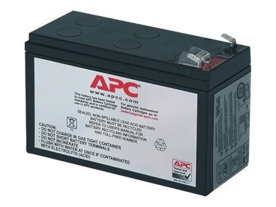 APC Replacement Battery Cartridge #106 - Batterie d'onduleur - 1 x Acide de plomb - noir - pour Back-UPS ES 400
