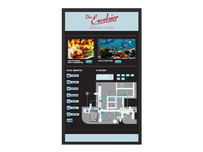 Planar UltraLux Touch LUX70-ERO-B-T 70INCH Class LED display digital signage with touchscreen