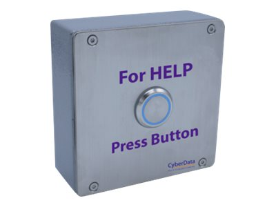 CyberData SIP Outdoor Call Button Push button wired 10/100 Ethernet