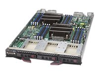 Supermicro SuperBlade SBI-7428R-C3 Server blade 2-way RAM 0 GB SATA/SAS hot-swap 2.5INCH