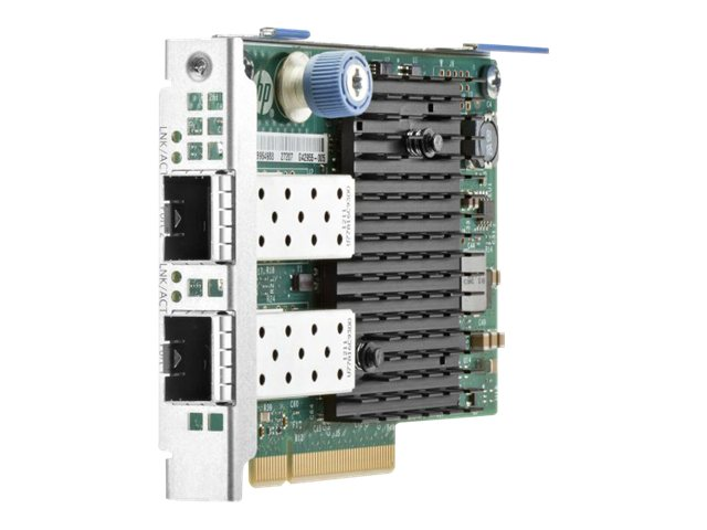 HPE 560FLR-SFP+ - Netzwerkadapter - PCIe 2.0 x8 - 10Gb Ethernet x 2 - für Apollo 4520 Gen9; ProLiant DL20 Gen9, XL230a Gen9; SimpliVity 380 Gen9; StoreEasy 3850