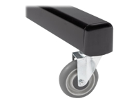 Chief PAC775 - Rolling casters - for Chief MF1, MFCUB, MFCUB700; MFC Series MFCUS700; Universal Flat Panel Floor Stand MF1U