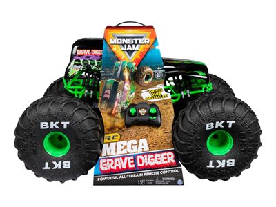 Monster Jam Mega Grave Digger RC