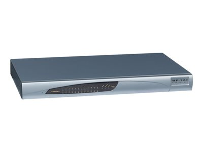AudioCodes MediaPack Series MP-124 VoIP gateway 16 ports 100Mb LAN