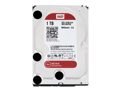 WD Red NAS Hard Drive WD10EFRX - harddisk - 1 TB - SATA 6Gb/s