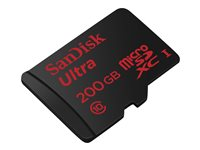 SanDisk Ultra - Premium Edition Flash-Speicherkarte (microSDXC-an-SD-Adapter inbegriffen)
