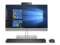 HP EliteOne 800 G5 All-in-one Core i7 9700 / 3 GHz RAM 8 GB SSD 256 GB NVMe, TLC DVD